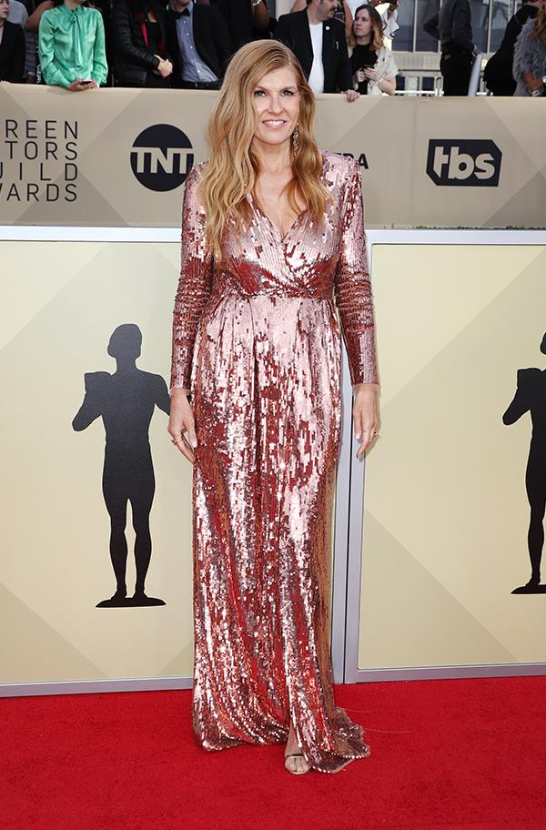 Connie Britton at the 2018 SAG Awards