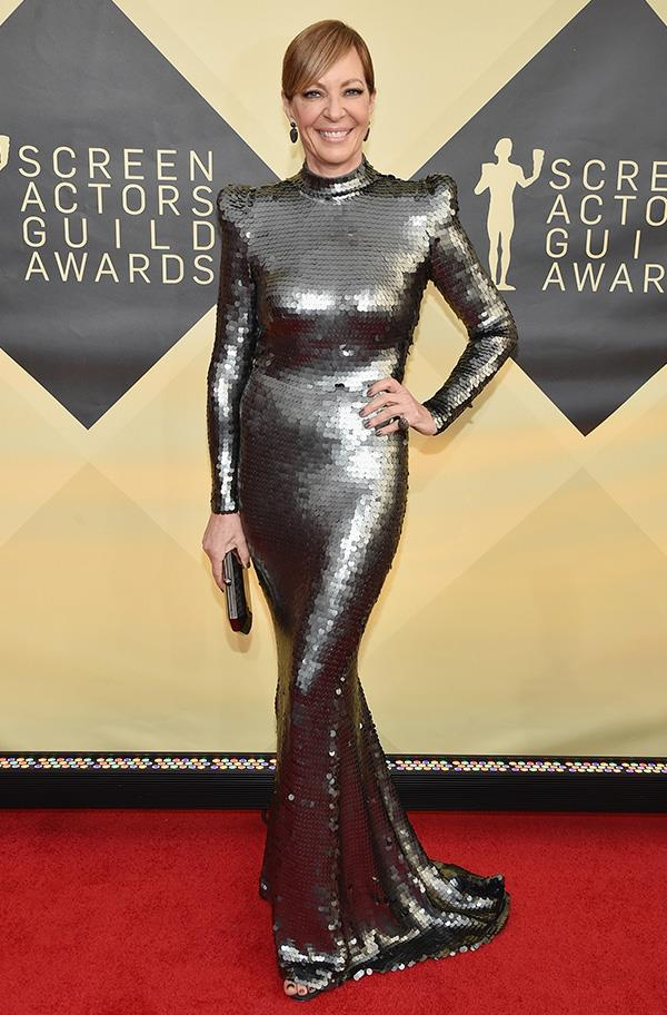 Allison Janney at the 2018 SAG Awards.