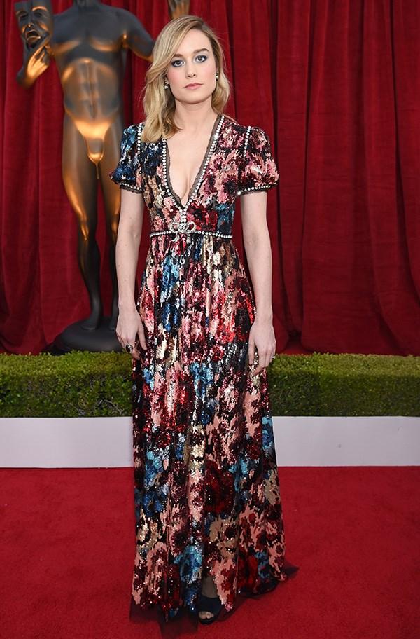 Brie Larson at the 2018 SAG Awards.