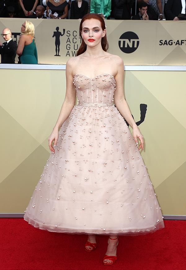 Madeline Brewer at the 2018 SAG Awards.
