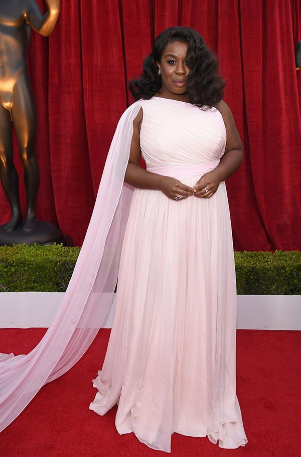Uzo Aduba at the 2018 SAG Awards.