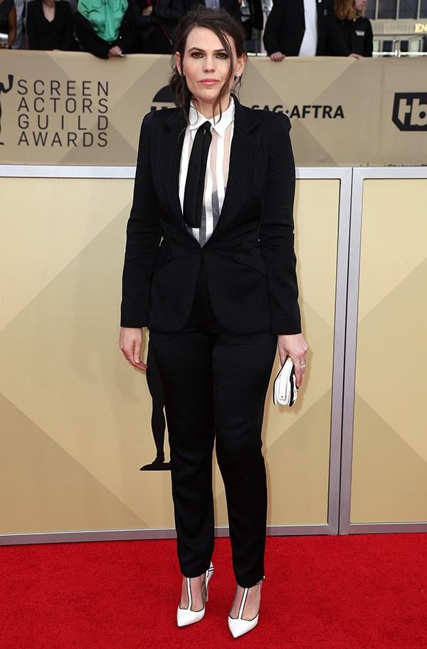 Clea DuVall at the 2018 SAG Awards.