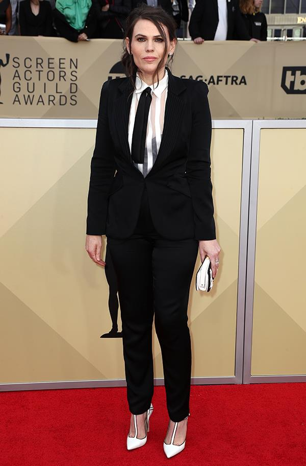 Clea DuVall at the 2018 SAG Awards.
