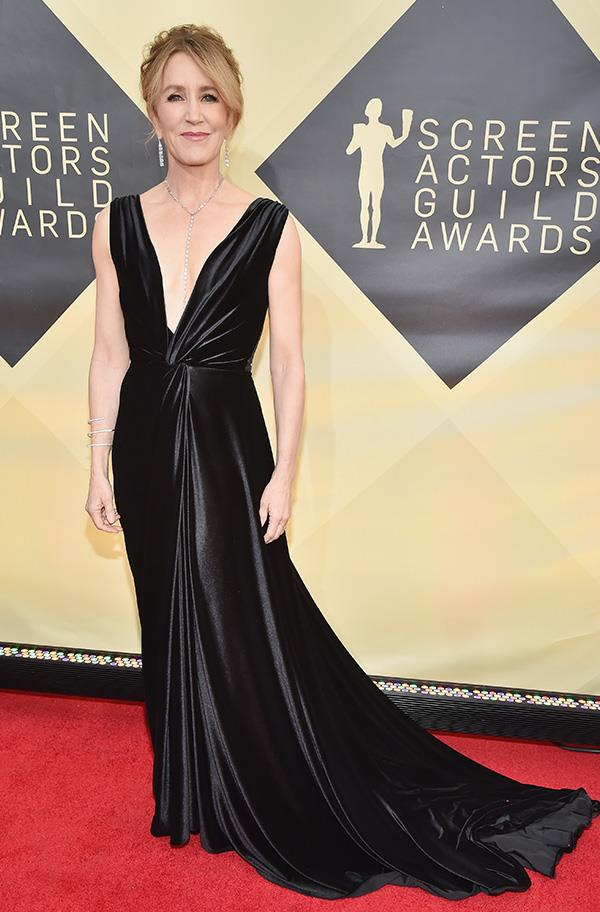 Felicity Huffman at the 2018 SAG Awards.