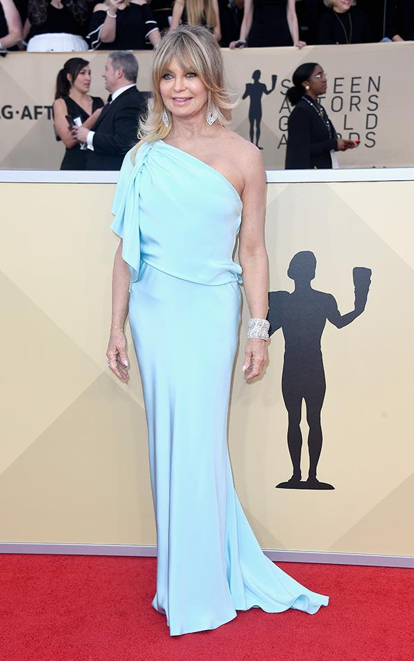Goldie Hawn at the 2018 SAG Awards.
