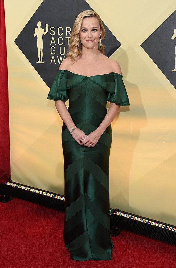 Reese Witherspoon at the 2018 SAG Awards.
