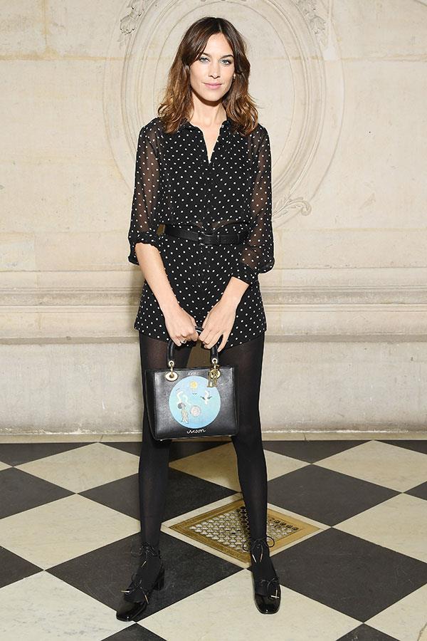 Alexa Chung at Dior