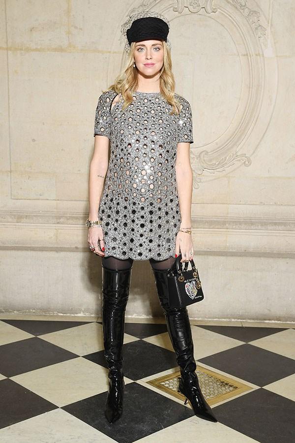 Chiara Ferragni at Dior