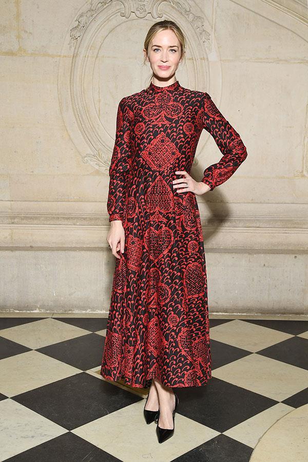 Emily Blunt at Dior