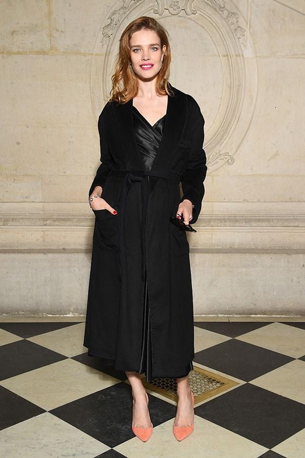Natalia Vodianova at Dior