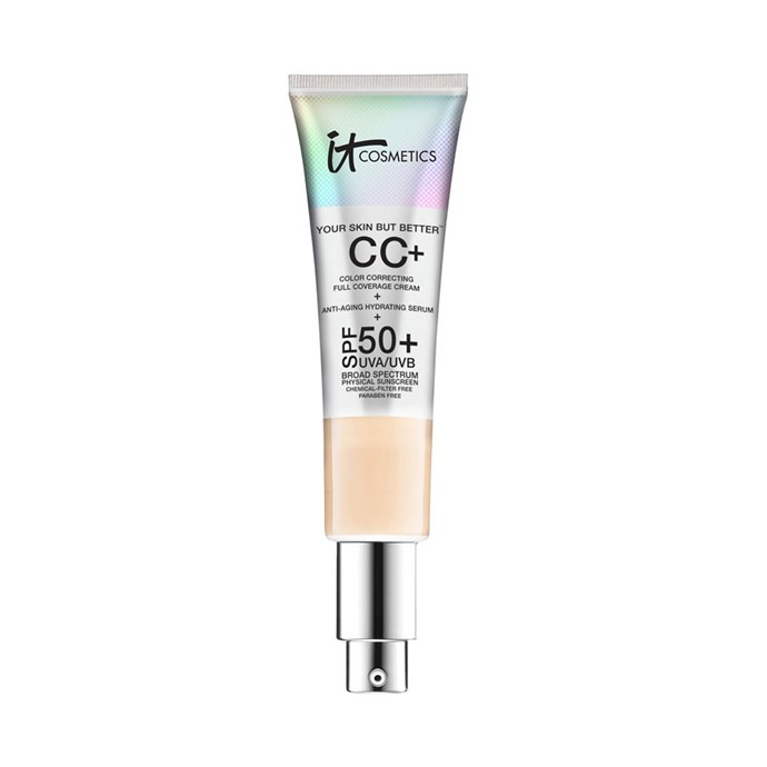"""**BEST CCs FOR ANTI-AGEING** <br><br>  **IT Cosmetics Your Skin But Better CC Cream SPF 50+, $61 at [Sephora](https://www.sephora.com.au/products/it-cosmetics-your-skin-but-better-cc-cream-with-spf-50-plus/v/fair