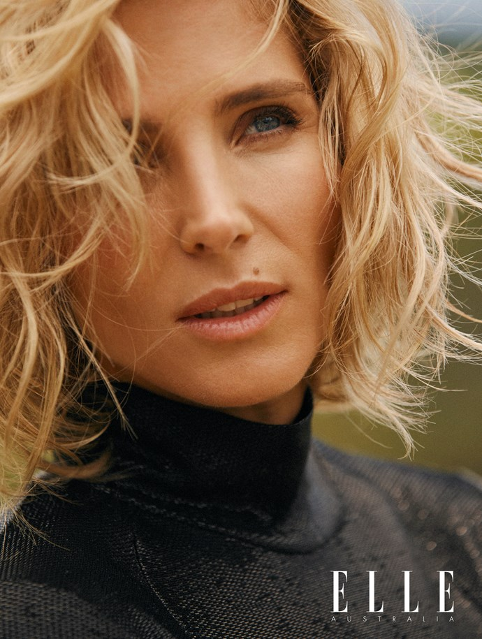 Elsa Pataky as she appears in the new issue of ELLE Australia.