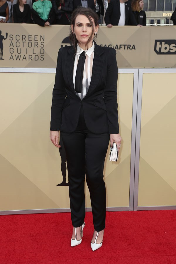 Clea DuVall at the 24th Annual Screen Actors Guild Awards