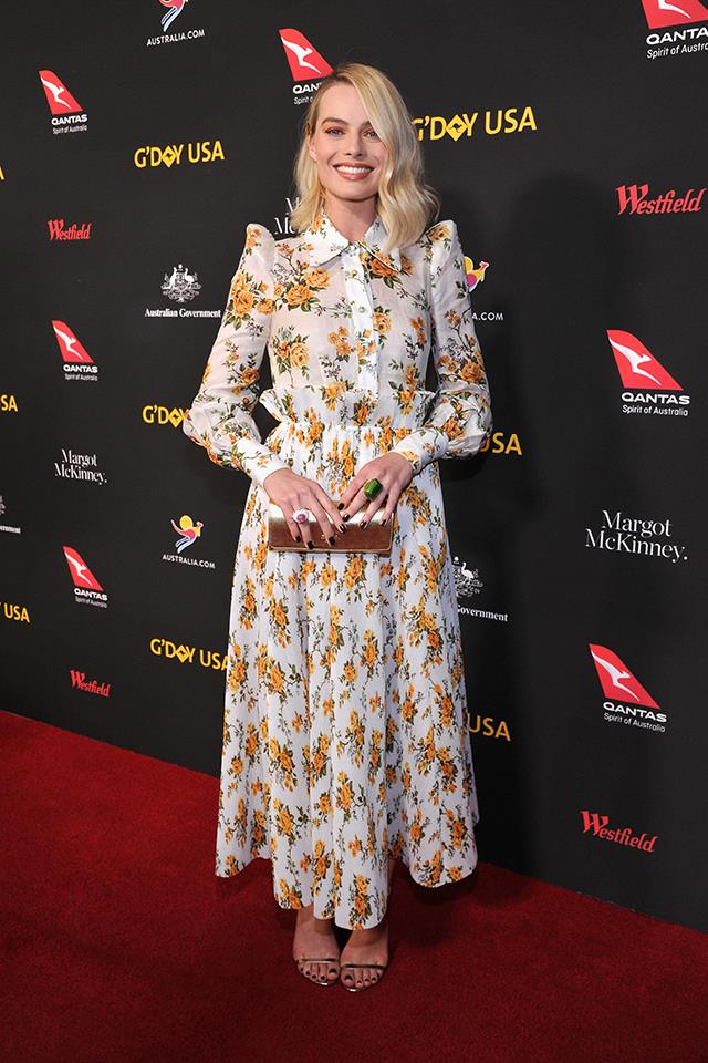 Margot Robbie in Zimmermann.