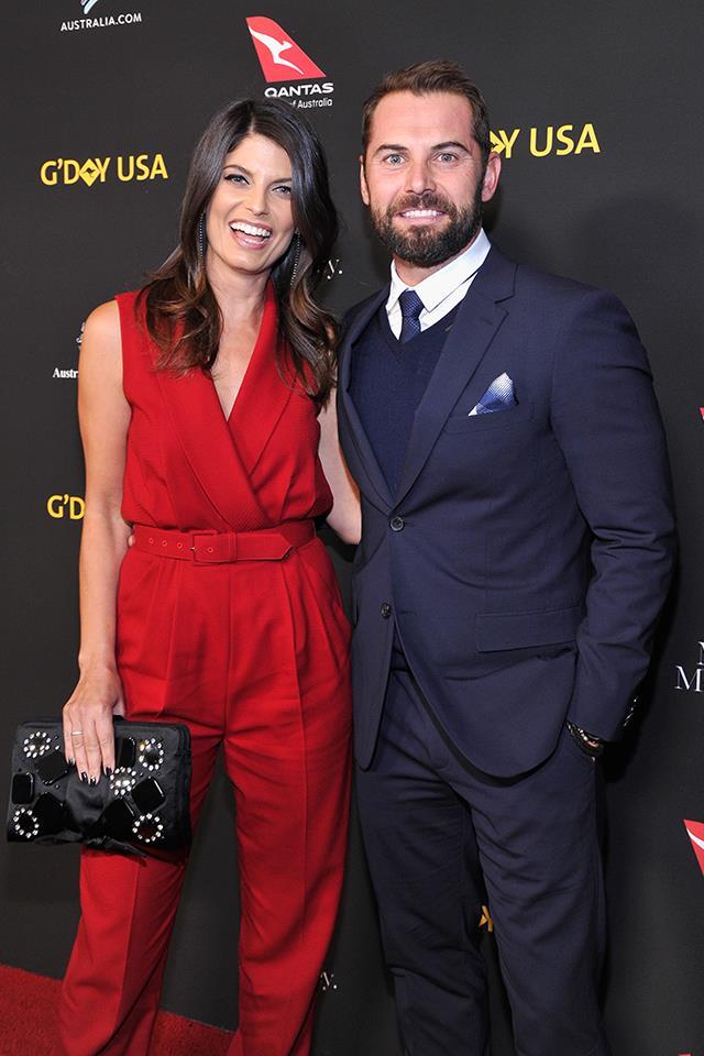 Zoe Ventoura and Daniel MacPherson.