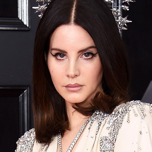 **Winged Eyeliner** <br> Hypothetical question: Would you recognise Lana Del Rey without her signature cat-eye? We aren't entirely sure that we would!  <br> <br> *Lana Del Rey*