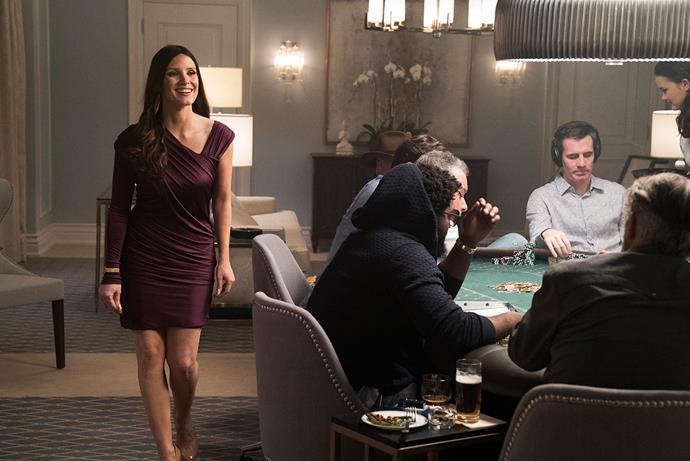 Jessica Chastain in *Molly's Game*