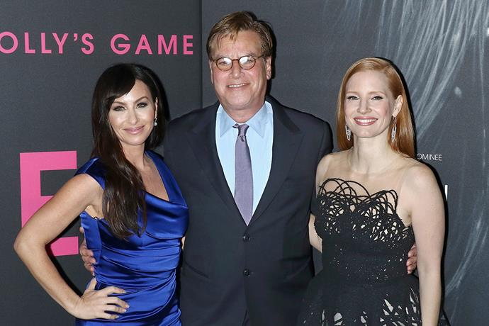 Molly Bloom, Aaron Sorkin and Jessica Chastain