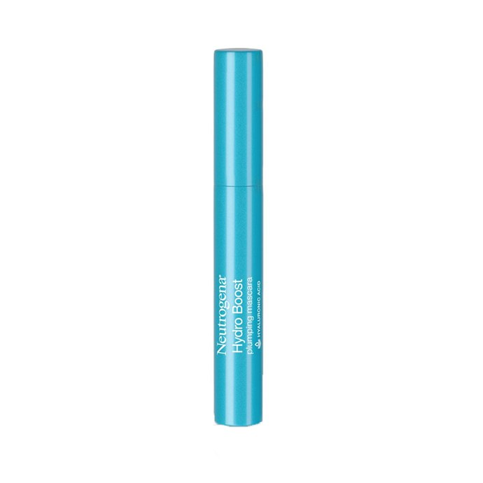 "Neutrogena Hydro Boost Plumping Mascara, $17 at [Amazon](https://www.amazon.com/Neutrogena-Plumping-Mascara-Enriched-Hyaluronic/dp/B077DXSDZS|target=""_blank""