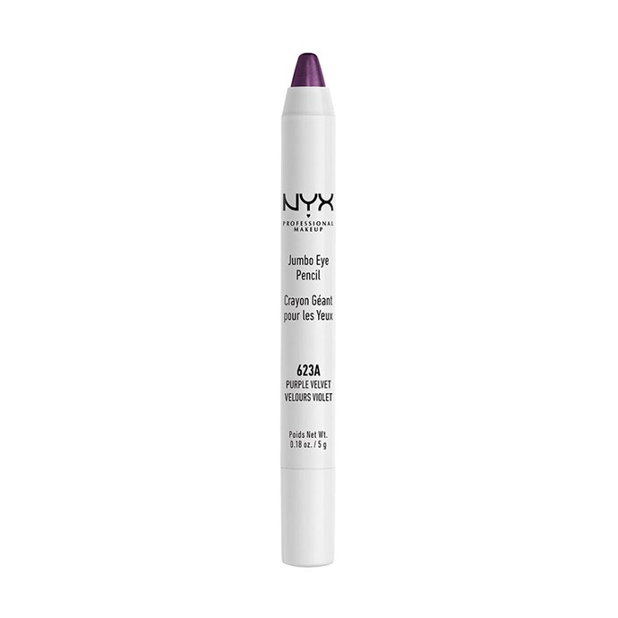 "NYX Professional Makeup Jumbo Eye Pencil In 'Purple Velvet', $10 at [Priceline](https://www.priceline.com.au/nyx-professional-makeup-jumbo-eye-pencil-5-g|target=""_blank""
