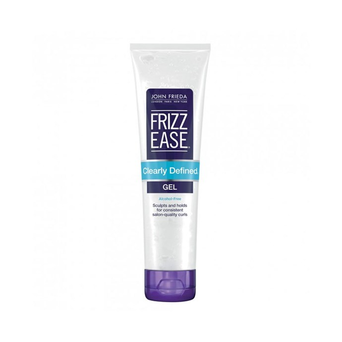 "John Frieda Frizz-Ease Clearly Defined Style Holding Gel, $16 at [Priceline](https://www.priceline.com.au/john-frieda-frizz-ease-clearly-defined-style-holding-gel-141-g|target=""_blank""