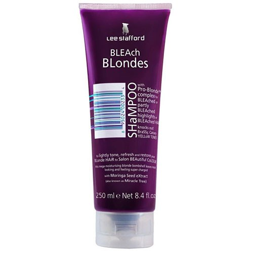 """**Lee Stafford Bleach Blondes Shampoo, $11.99 at [Priceline](https://www.priceline.com.au/lee-stafford-bleach-blondes-shampoo-250-ml target=""""_blank"""").**  <br><br> Lee Stafford Bleach Blondes Shampoo is the most affordable pick of the bunch! If you're looking for a blonde shampoo that you can sub in once a week, this product will do the trick."""