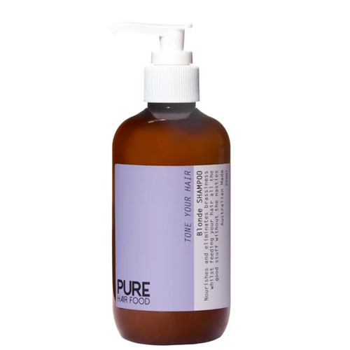 "**Pure Hair Food Tone Your Hair Blonde Shampoo, $28.90 at [Pure Hair Food](http://www.purehairfood.com.au/product-page/tone-your-hair-blonde-shampoo|target=""_blank"").** <br><br> This clarifying shampoo is a good choice for the eco-conscious blonde. All Pure Hair Food products are free from nasties, including sulphates and harsh detergents. Plus, it does a stand-up job of keeping cool blondes looking cool."