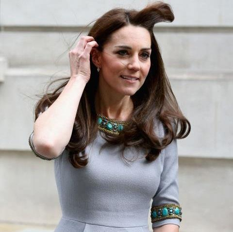 <strong>Kate Middleton.</strong><br><br> When your hair ignores royal protocol.