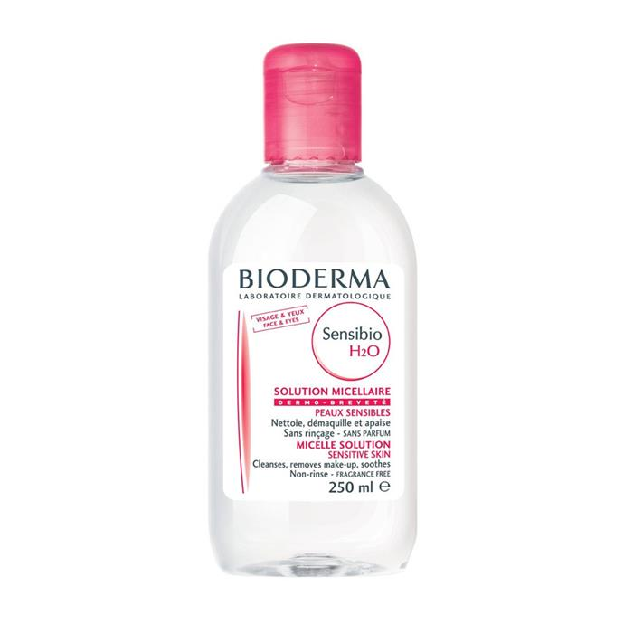"Bioderma Sensibio H2O Micelle Solution 250mL, $32 at [Priceline](https://www.priceline.com.au/bioderma-sensibio-h2o-micelle-solution-250-ml|target=""_blank""