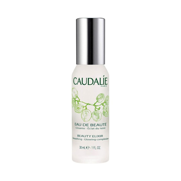 "Caudalie Beauty Elixir, $24 at [Sephora](https://www.sephora.com.au/products/caudalie-beauty-elixir/v/30ml|target=""_blank""