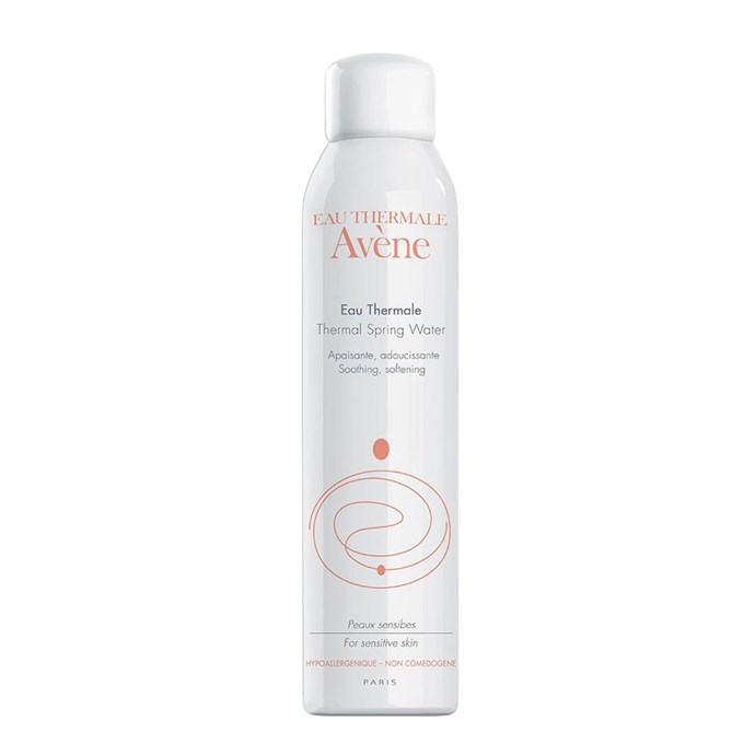 "Avène Thermal Spring Water, $26 at [Priceline](https://www.priceline.com.au/avene-thermal-spring-water-300-ml|target=""_blank""
