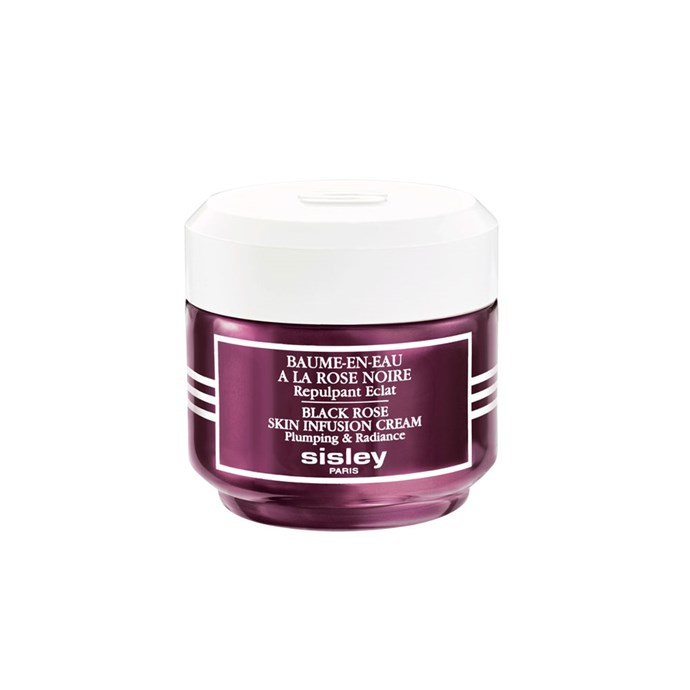 "Sisley Black Rose Skin Infusion Cream, $230 at [David Jones](http://shop.davidjones.com.au/djs/en/davidjones/black-rose-skin-infusion-cream-50ml|target=""_blank""