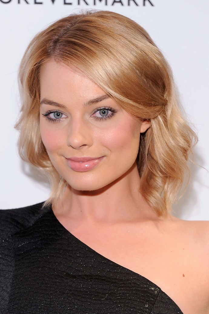 She debuted a new, pulled back look at the 'My Week With Marilyn' New York premiere in 2011.