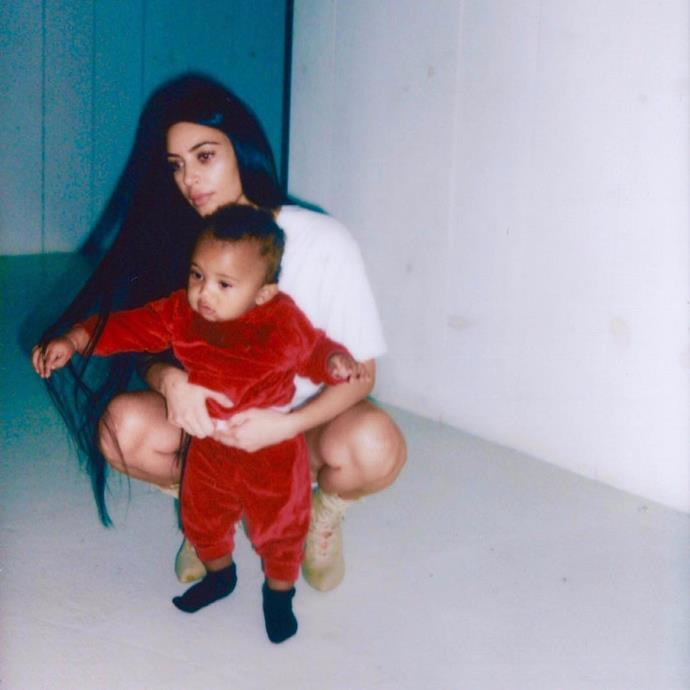 **Saint West** <br><br> Kim Kardashian and Kanye West's son, Saint, was welcomed into the world on December 5, 2015. The inspiration behind his name was supposedly due to Kim's troubled pregnancy. Kim struggled to fall pregnant, and dealt with many complications during her pregnancy, so decided to call her growing bump 'Saint', as he was a blessing to the family—a miracle, of sorts.