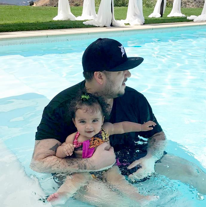 """**Dream Renée Kardashian** <br><br> Rob Kardashian and Blac Chyna's only child was born on November 10, 2016. According to a source that spoke to *People*, """"Rob and Chyna had the name Dream for a long time,"""" claiming that she was called this because """"they've always said she's a dream come true."""" The middle name 'Renée' is copied from Chyna's mother's name—Angela Renée White—and means 'reborn' in French."""