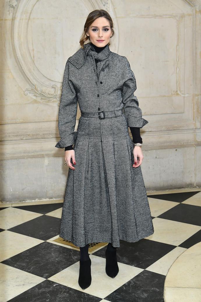 Olivia Palermo front row at Dior autumn/winter '18