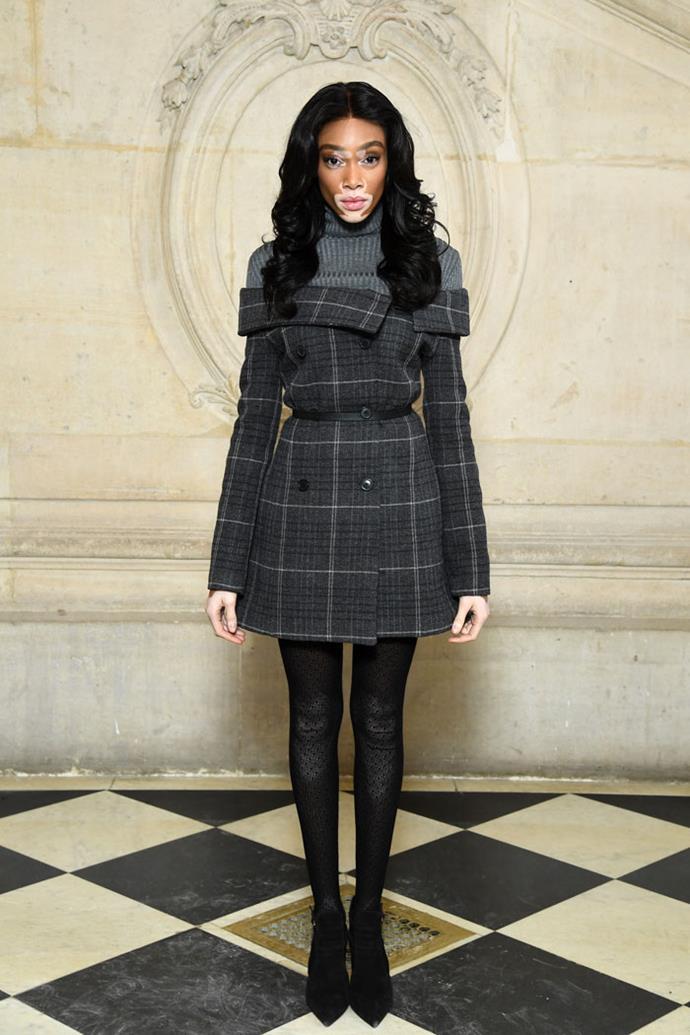 Winnie Harlow front row at Dior autumn/winter '18