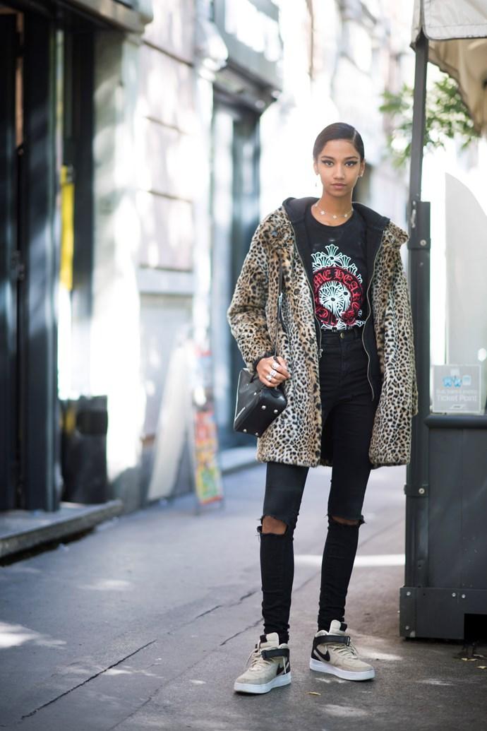 **Leopard print**