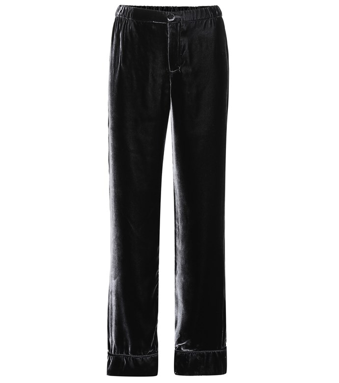 """**Buy:** Trousers by For Restless Sleepers, $559 at [Mytheresa](https://www.mytheresa.com/en-au/001243-velvet-trousers-816567.html