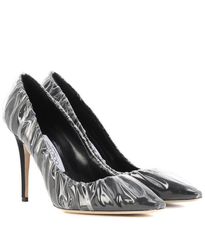 """**Buy:** Shoes by Jimmy Choo x Off-White, $1,225 at [Mytheresa](https://www.mytheresa.com/en-au/jimmy-choo-anne-100-satin-pumps-956906.html?catref=category