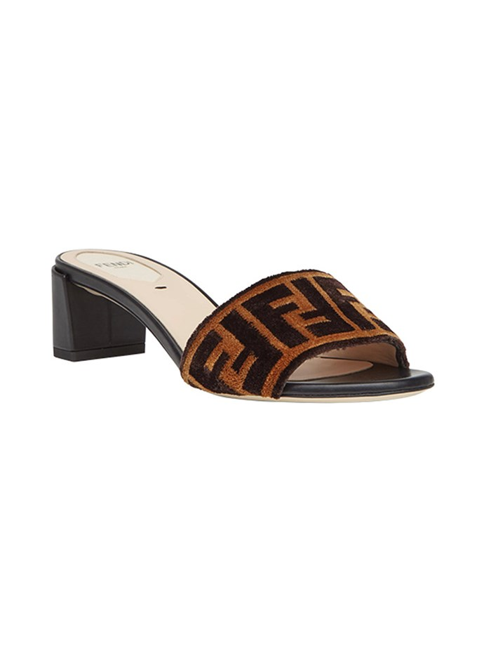 """**Buy:** Shoes by Fendi, $970 at [Farfetch](https://www.farfetch.com/au/shopping/women/fendi-sabots-fabric-sandals-item-12507313.aspx?storeid=9710&from=1