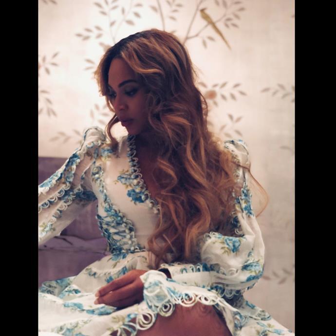 Beyoncé in Zimmermann.