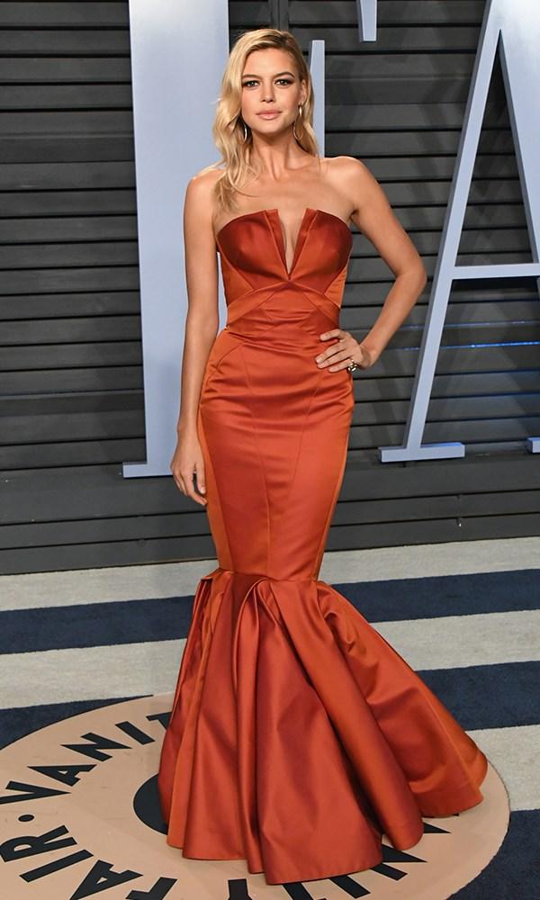 Kelly Rohrbach at the *Vanity Fair* Oscars party.