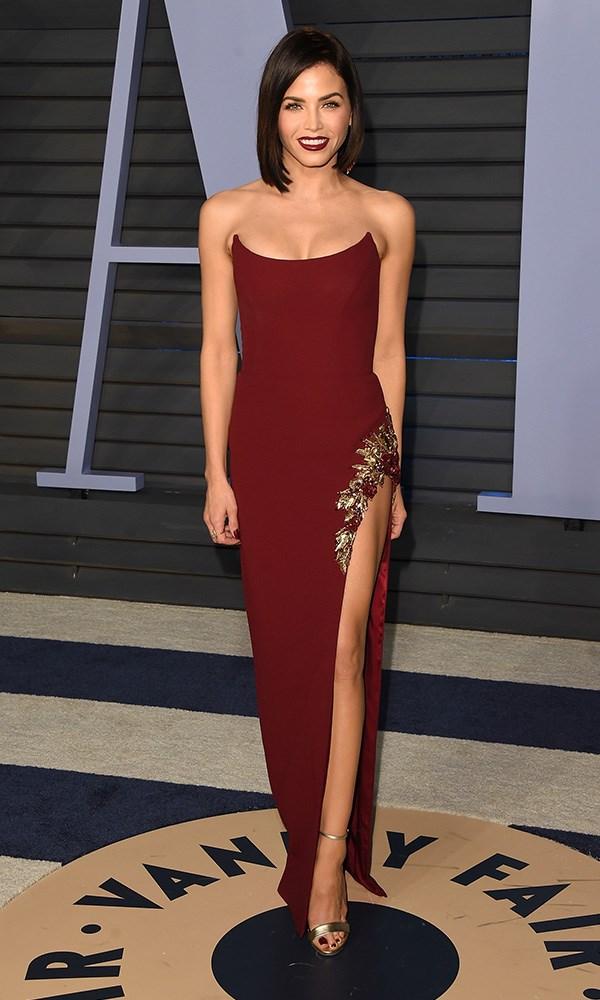 Jenna Dewan Tatum at the *Vanity Fair* Oscars party.