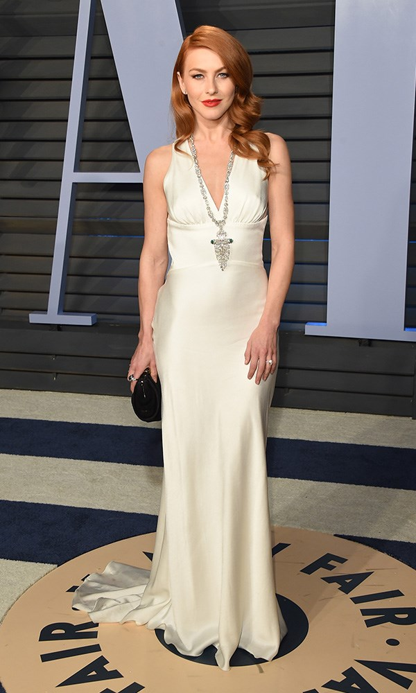 Julianne Hough at the *Vanity Fair* Oscars party.