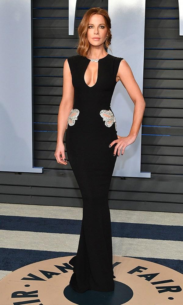 Kate Beckinsale at the *Vanity Fair* Oscars party.