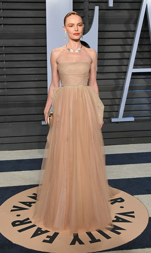 Kate Bosworth at the *Vanity Fair* Oscars party.