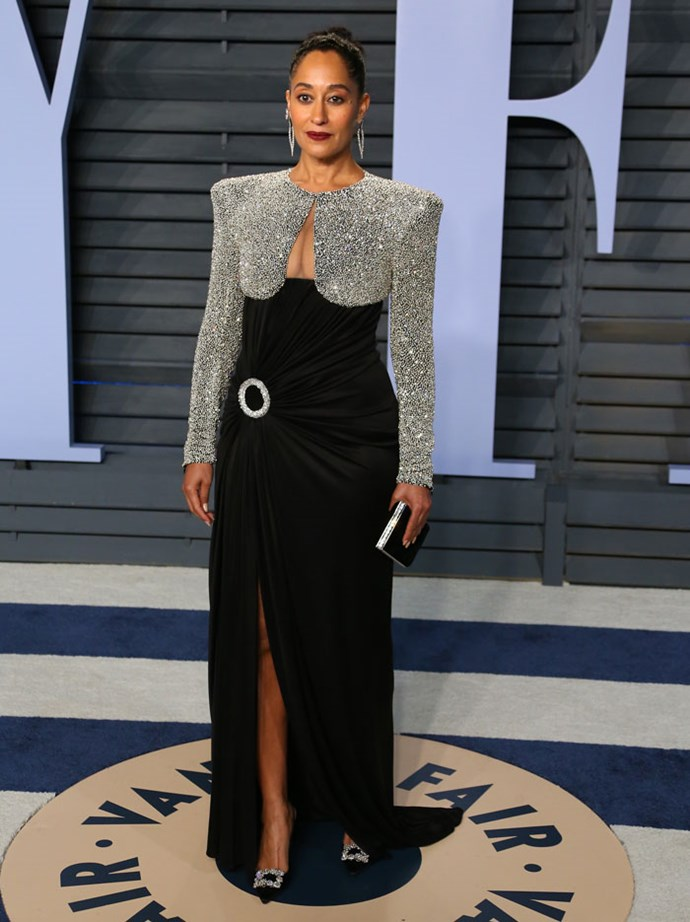 Tracee Ellis Ross at the *Vanity Fair* Oscars party.