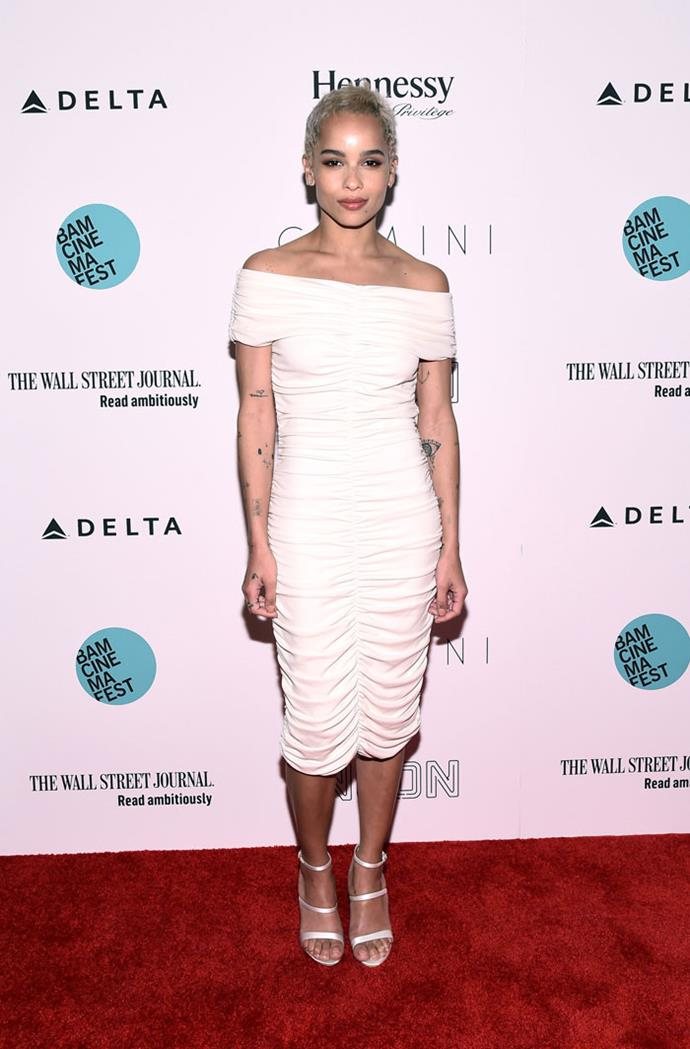 Wearing The Row at the *Gemini* New York premiere, June 2017
