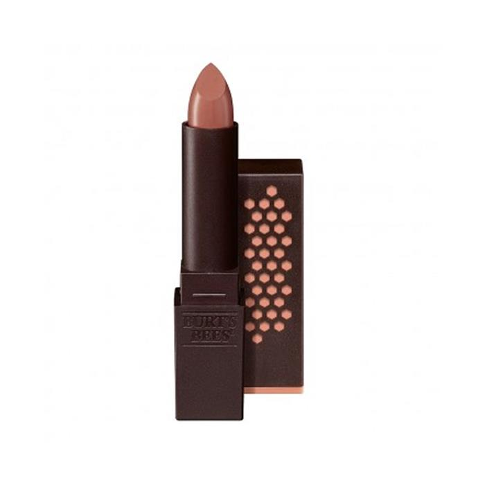 "Burt's Bees Satin Lipstick in 'Nile Nude', $20 at [Priceline](https://www.priceline.com.au/burts-bees-lipstick-3-4-g|target=""_blank""